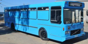 Dreamscape Tours - Night Clubs Vehicle - Blue Party Bus 01