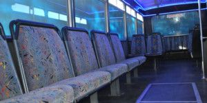Dreamscape Tours - Night Clubs Vehicle - Blue Party Bus 02