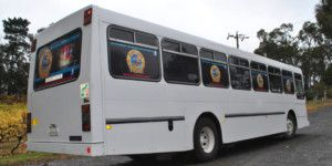 Dreamscape Tours - Winery Tours Vehicles White Party Bus 001