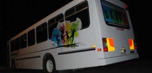 White Party Bus 1