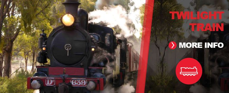 Twilight Train Tours Melbourne